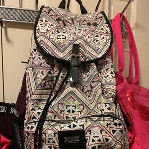 PINK Aztec Backpack